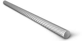 Rondstaal geribd 8 mm. 3.00 meter.